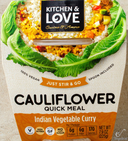 Kitchen & Love. Cauliflower Quick Meal Indian Vegetable Curry