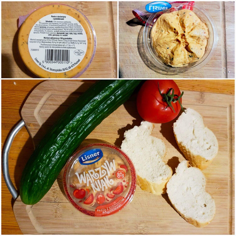 Linser. Warzywniak pasta z suszonymi pomidorami