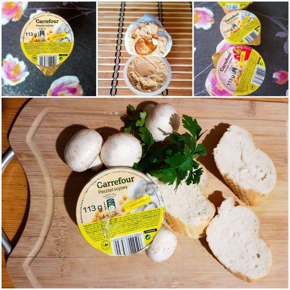 Carrefour. Pasztet sojowy z pieczarkami