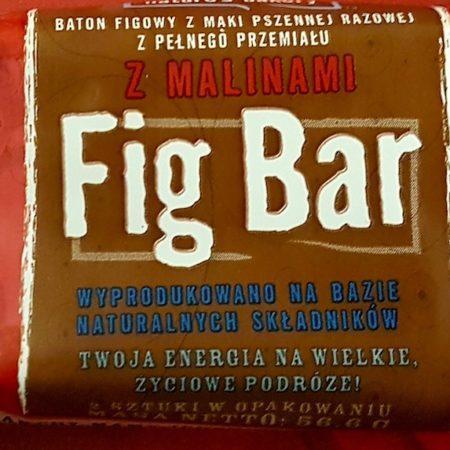 Nature's Bakery. Fig Bar z malinami