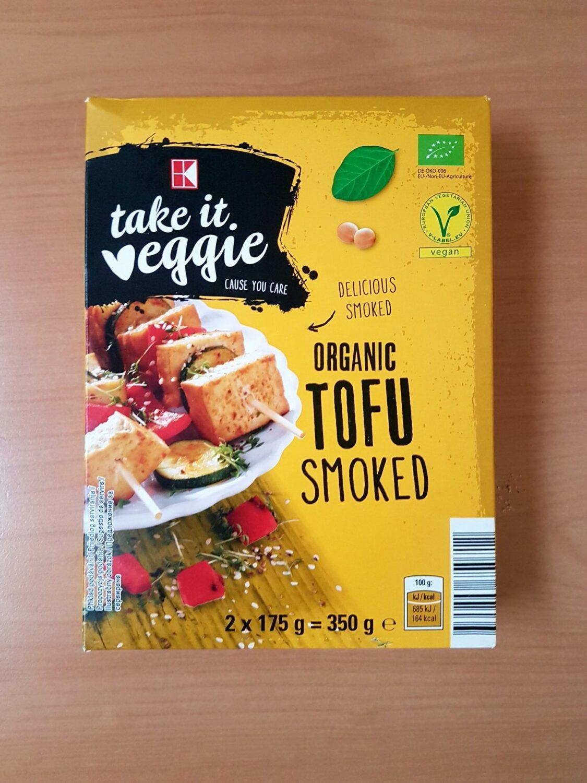 Take it Veggie. Organic tofu smoked