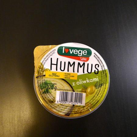 Sante. Hummus z oliwkami