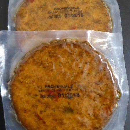 Sojasun. Burgery sojowe w stylu prowansalskim