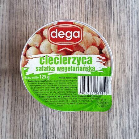 Dega. Ciecierzyca sałatka wegetariańska