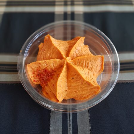 Perla. Hummus paprykowy