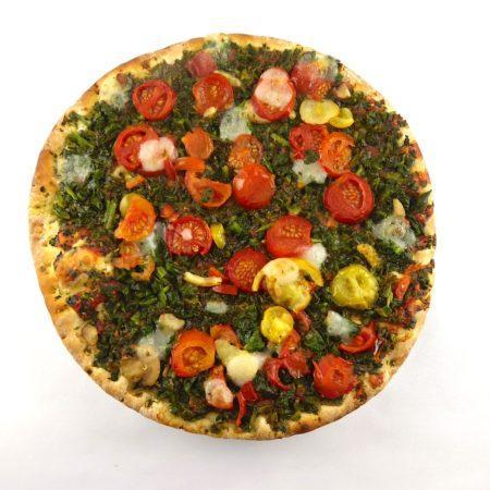 Trattoria Alfredo. Delizioza Vegan Pizza Verdura