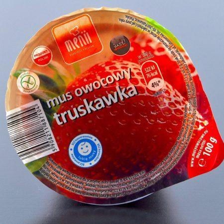 Menii. Mus owocowy truskawka