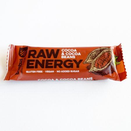 Baton Raw Energy Cocoa & cocoa beans