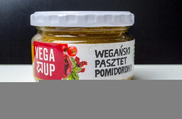 Vega Up. Pasztet wegański pomidorowy