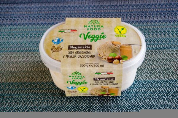 Natura Food. Veggie. Wegańskie lody z masłem orzechowym