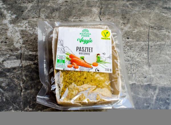 Natura Food. Veggie. Pasztet warzywny