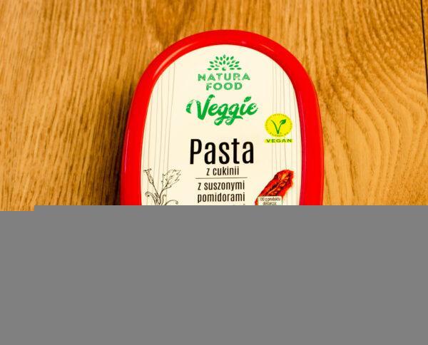Natura Food. Veggie. Pasta z cukinii z suszonymi pomidorami