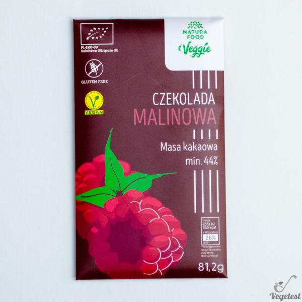Natura Food. Veggie. Czekolada malinowa