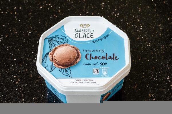 Swedish Glace. Lody sojowe o smaku czekoladowym