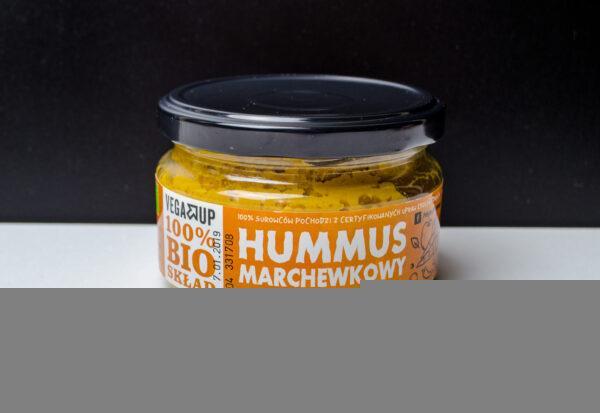 Vega Up. BIO Hummus marchewkowy z wędzoną papryką