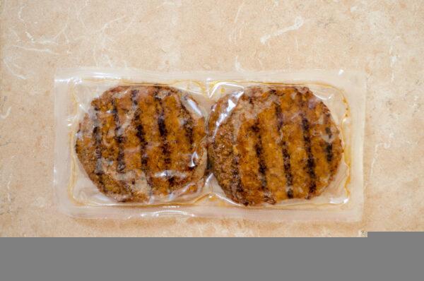 GutBio. Burger z białka pszennego i sojowego