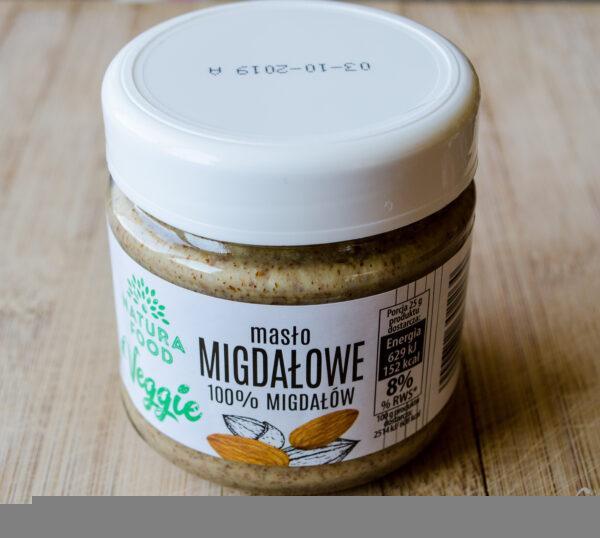 Natura Food. Veggie. Masło migdałowe 100%