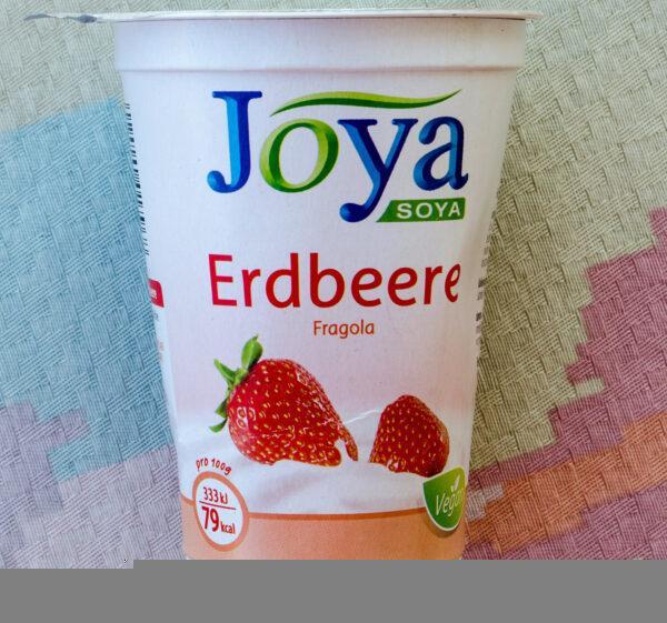 JOYA Soja Erdbeere. Sojowa alternatywa dla jogurtu truskawkowego