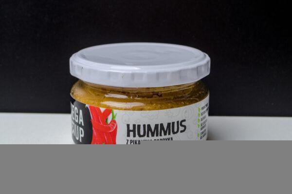 Vega Up. Hummus z pikantną papryką