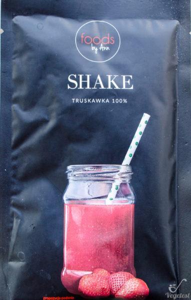 Foods by Ann. Shake Truskawka 100%