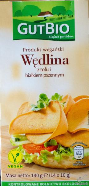 GutBio. Wędlina z tofu i białkiem pszennym