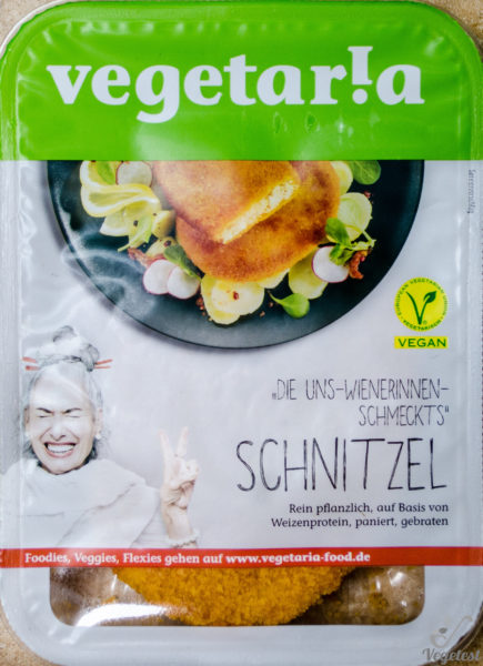 Vegetaria. Schnitzel. Kotlety wegetariańskie