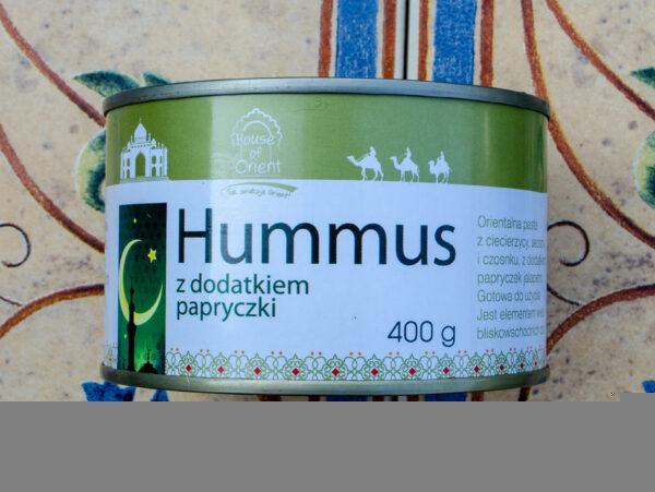 House of Orient. Hummus z dodatkiem papryczki