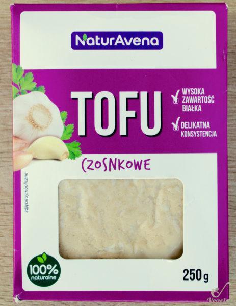 NaturAvena. Tofu czosnkowe
