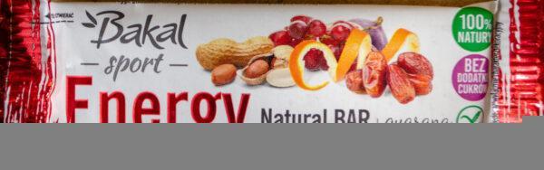 Bakal. Energy Natural Bar