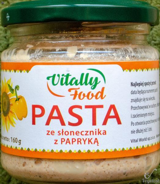 Vitally Food. Pasta ze słonecznika z papryką