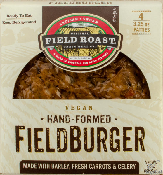 Field Roast. Fieldburger