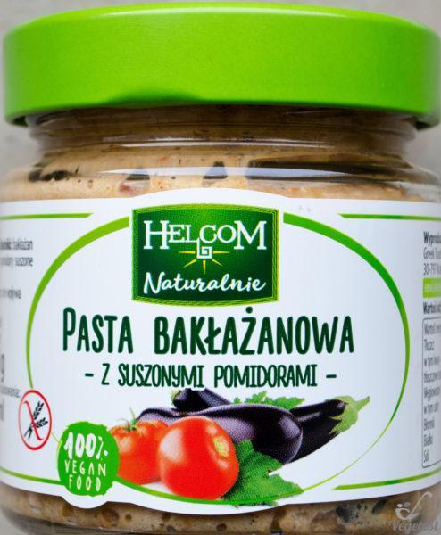 Helcom. Pasta bakłażanowa z suszonymi pomidorami