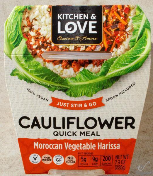 Kitchen & Love. Cauliflower Quick Meal Maroccan Vegetable Harissa