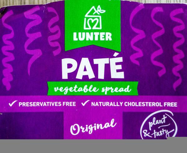 Lunter. Pasztet warzywny Paté