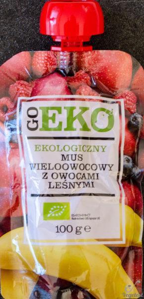 Go Eko. Ekologiczny mus wieloowocowy z owocami leśnymi