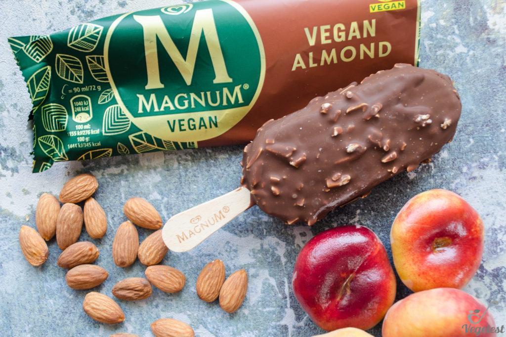 Lody wegańskie Magnum Vegan almond
