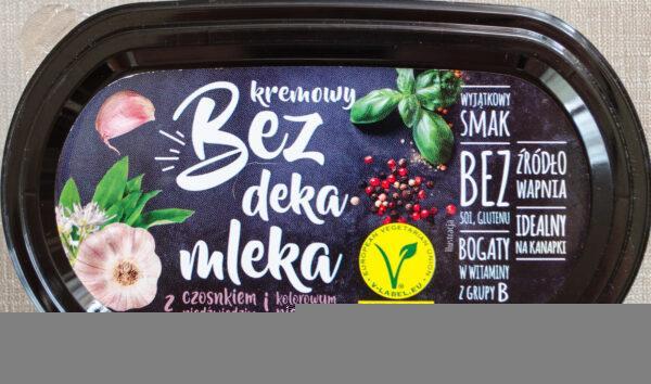 bez deka mleka wegański blog