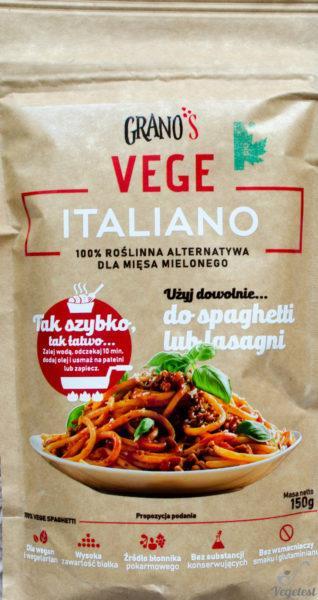 Grano's Vege Italiano