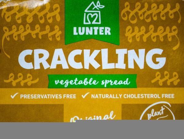 Lunter. Crackling. Skwarkowa pasta ze skwarkami cebulowymi