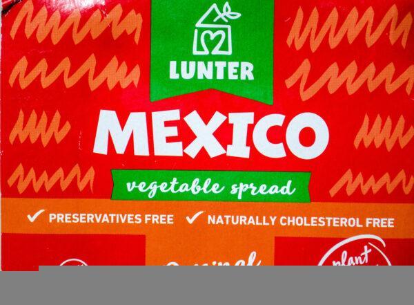 Lunter. Mexico. Pasta meksykańska