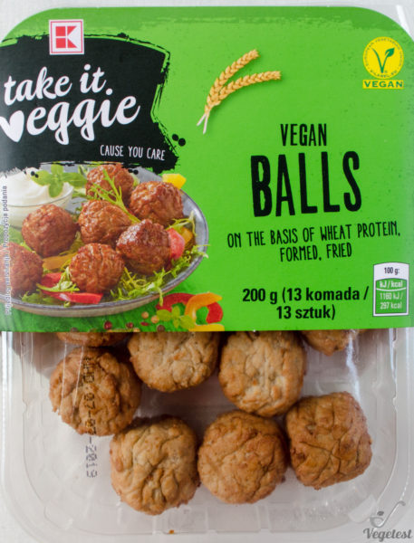 Take it Veggie. Vegan Balls