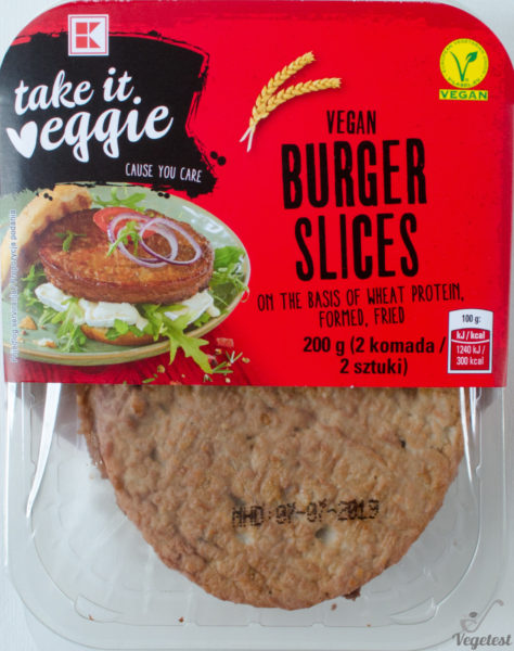 Take it Veggie. Vege Burger