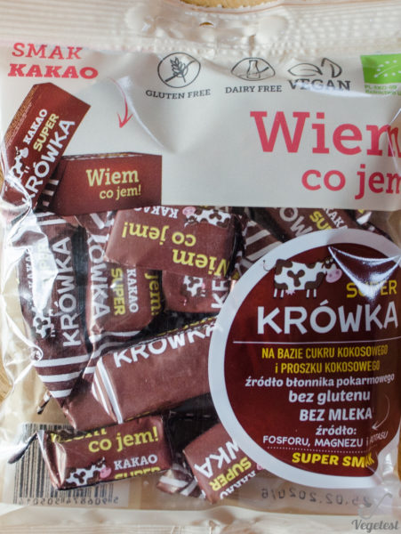 Wiem co jem. Super krówka kakao