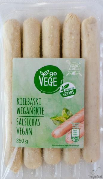 Go Vege. Kiełbaski wegańskie