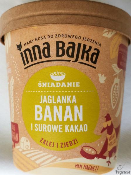 Inna Bajka. Jaglanka banan i surowe kakao