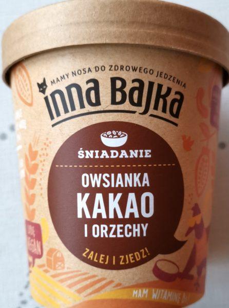 Inna Bajka. Owsianka kakao i orzechy