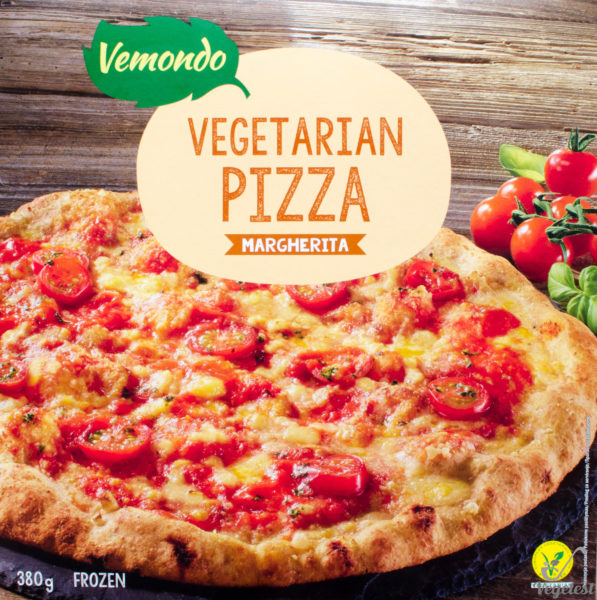 Vemondo. Vegetariana Pizza Margherita
