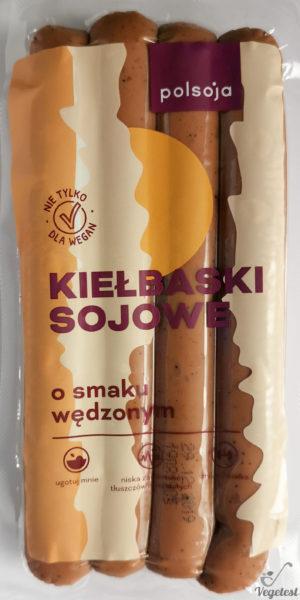 Kiełbaski sojowe wegański blog