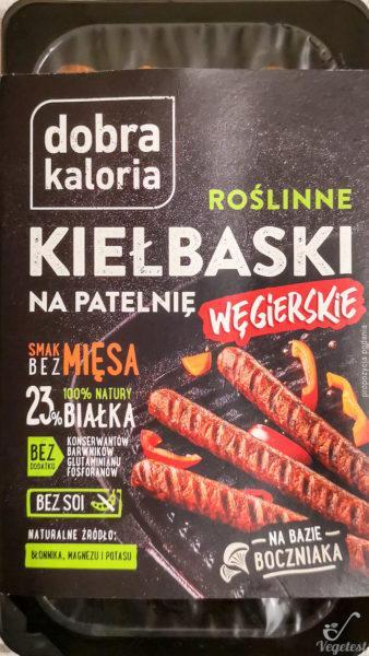 Kiełbaski węgierskie wegański blog