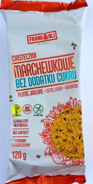 ciasteczka marchewkowe blog wegański